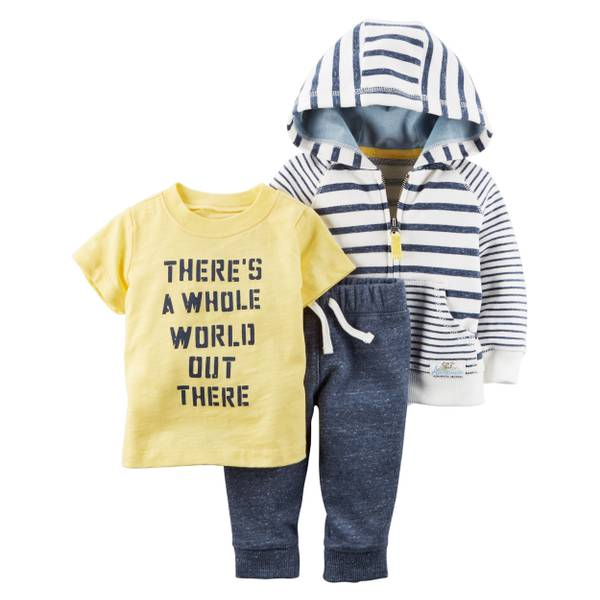 Baby Boys' 3-piece Little Collection Set