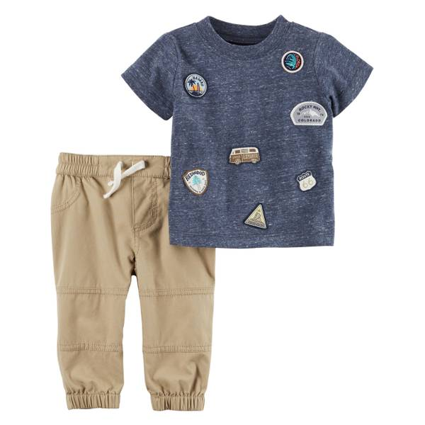 Baby Boys' 2-piece Tee & Pant Set
