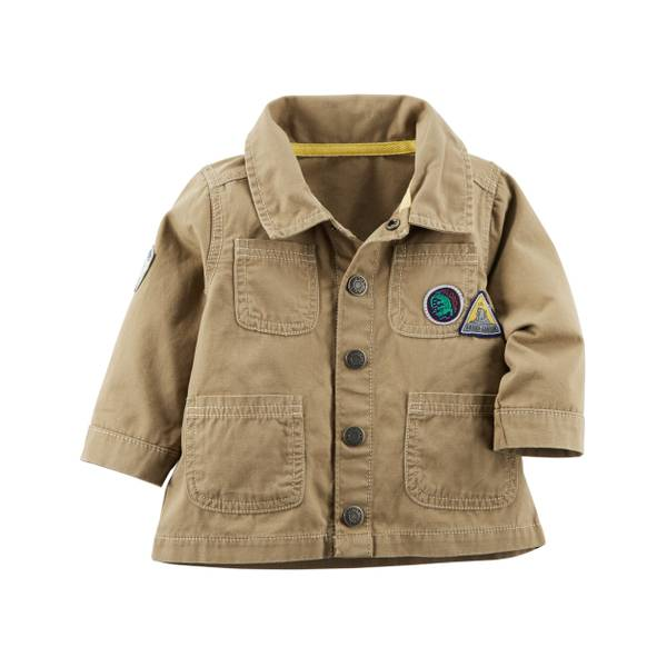 Baby Boys' Canvas Jacket