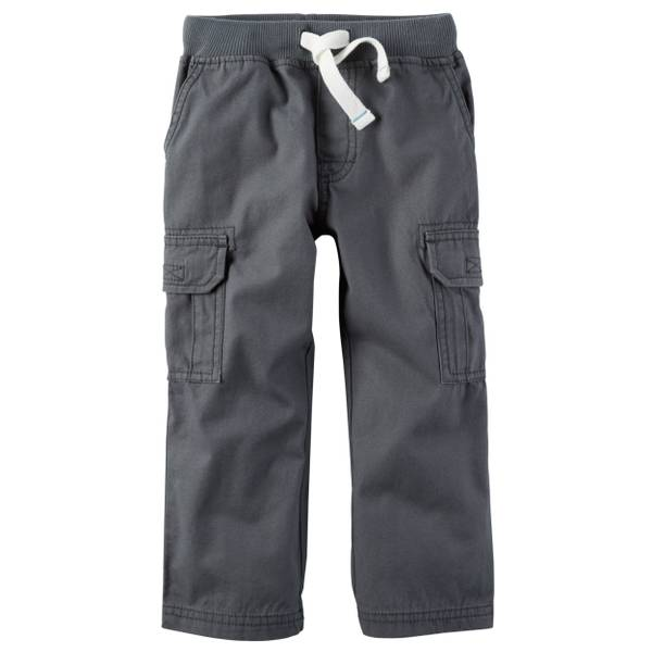 Boys' Canvas Cargo Pant