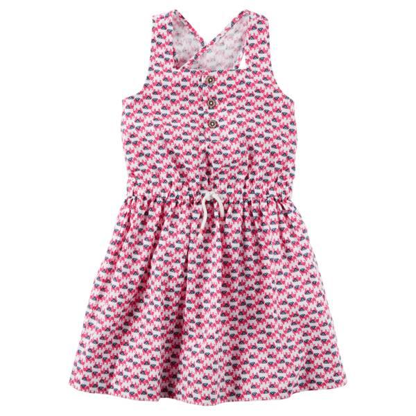 Girls' Crossback Dress