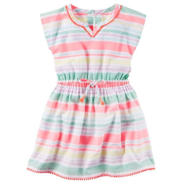 Girls' Stripe Dress