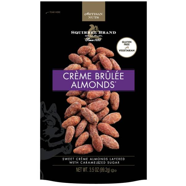 3.5oz Creme Brulee Almonds
