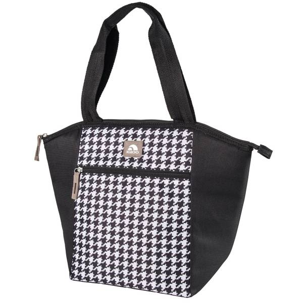 Igloo Corporation Black & White Houndstooth Essential Tote ...