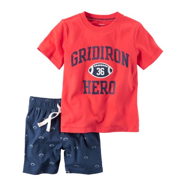 Baby Boys' Short Sleeve Tee & Shorts Set
