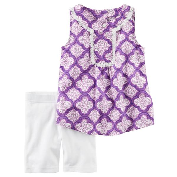 Baby Girls' 2-piece Tank & Shorts Set