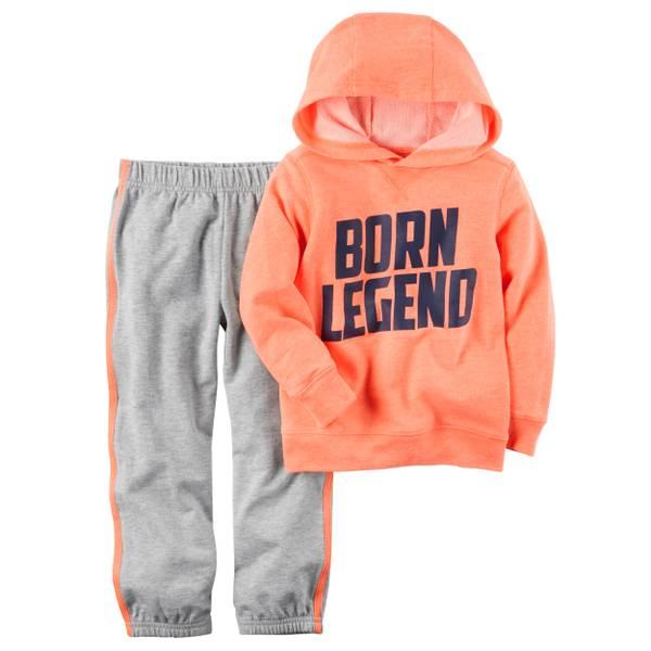 Baby Boys' 2-piece French Terry Sweatshirt & Pants Set