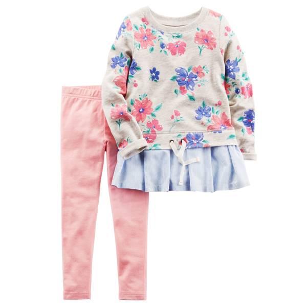 Baby Girls' 2-piece Shirt & Pant Set
