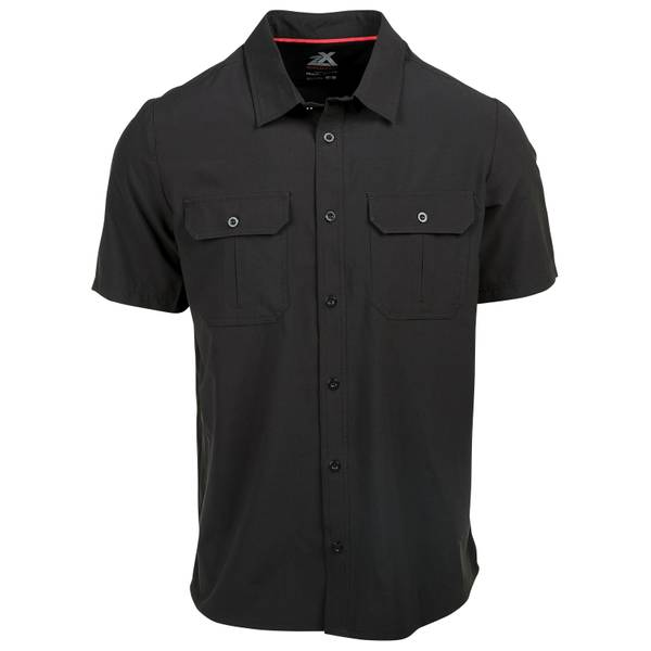 Men's Short Sleeve Ripstop Stretch Shirt