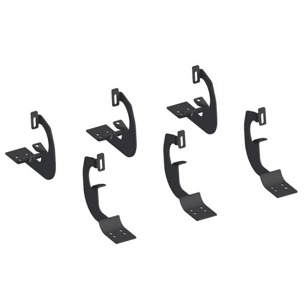Oval Side Bar Mounting Brackets