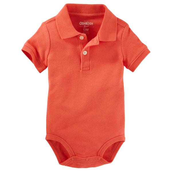 Baby Boys' Polo Bodysuit