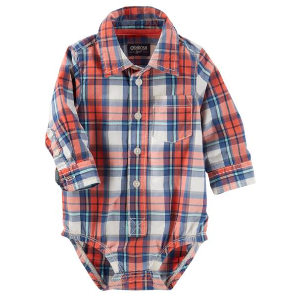 Baby Boys' Button-Front Bodysuit