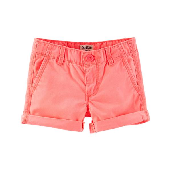 Girls' Roll Cuff Shorts