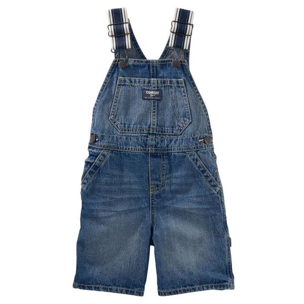 Baby Boys' Heritage Strap Overalls