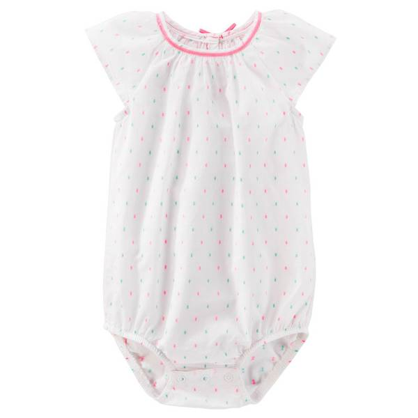 Baby Girls' Flutter Sleeve Bodysuit