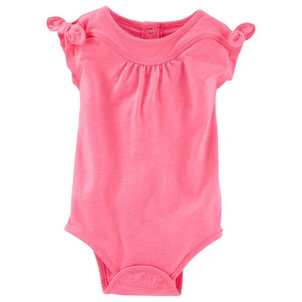 Baby Girls' Tie Sleeve Bodysuit