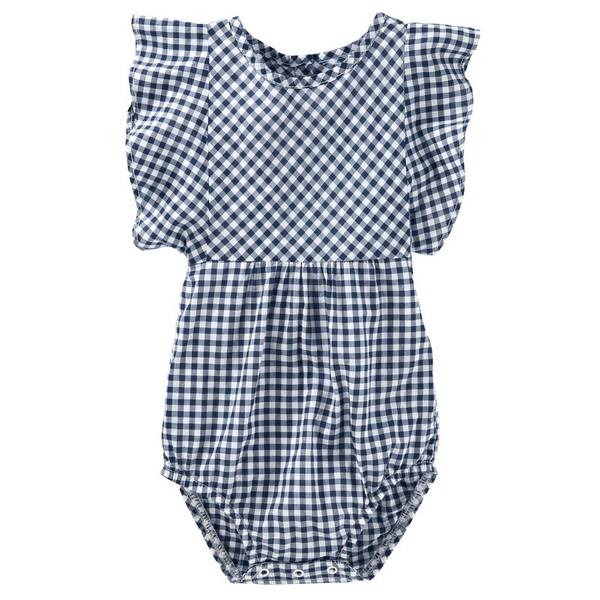 Baby Girls' Gingham Bodysuit