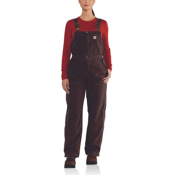 Women's Weathered Duck Wildwood Bib Overalls