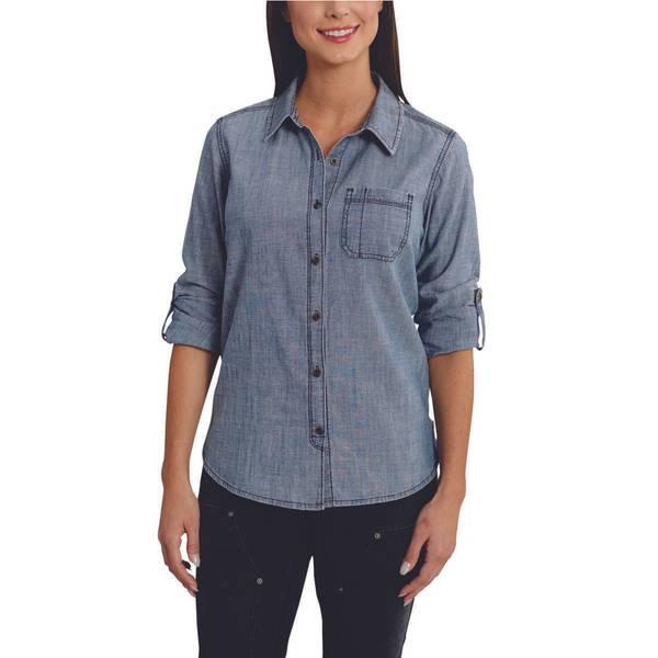 Women's Dodson Chambray Long-Sleeve Shirt