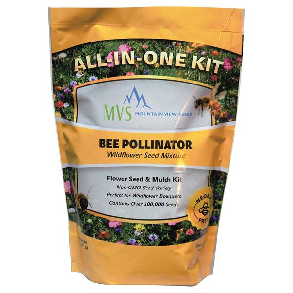 Bee Pollinator Wildflower Seed Mixture
