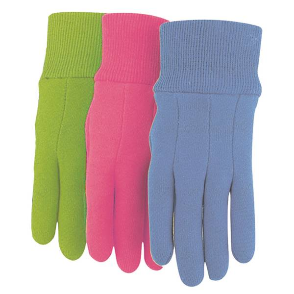 Kids Jersey Gloves Assorted Colors