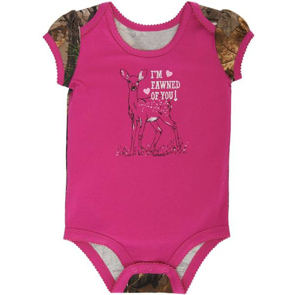Baby Girls' Camo Sleeve Bodysuit