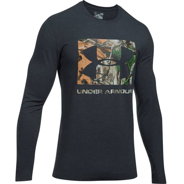 Men's UA Camo Knockout Long-Sleeve Tee