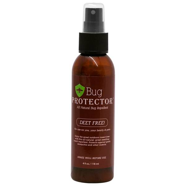 4 oz Deet-Free All Natural Mosquito Repellent