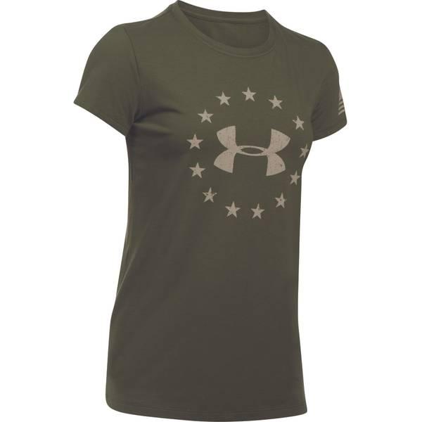 Womens Freedom Logo Short Sleeve