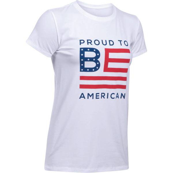 Womens Proud To Be Tee Short Sleeve