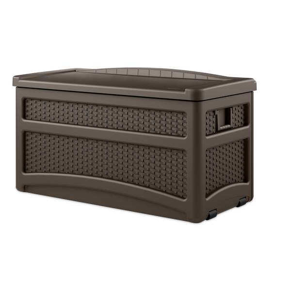 Deck Box with Seat