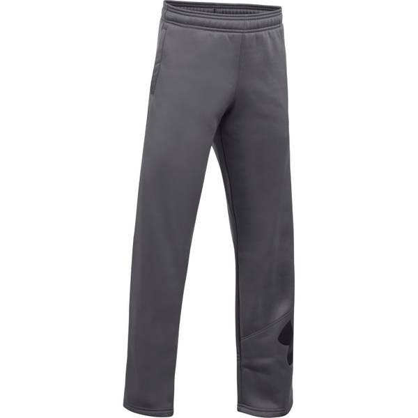 Big Boys' Armour Fleece Big Logo Pants