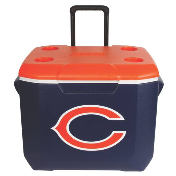 60 Qt Wheeled Chicago Bears Cooler