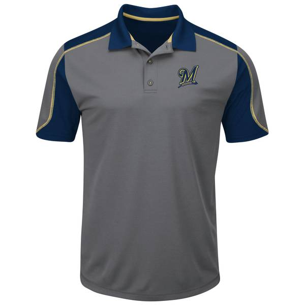 Brewers Short Sleeve Polo