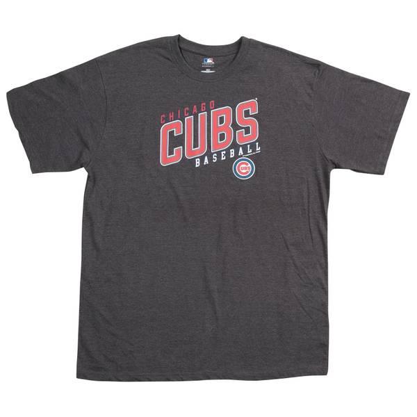 Big & Tall Men's Chicago Cubs Short Sleeve Tee
