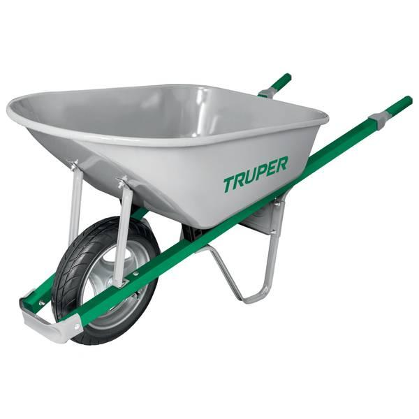 Truper 6 Cubic Feet Steel Wheelbarrow