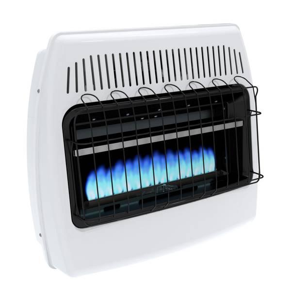 Dyna Glo Liquid Propane Blue Flame Vent Free Wall Heater
