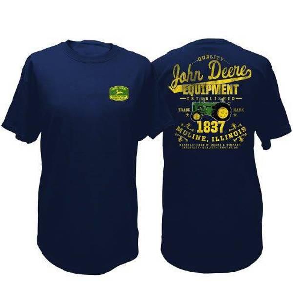 Men's John Deere Short Sleeve Equipment Tee