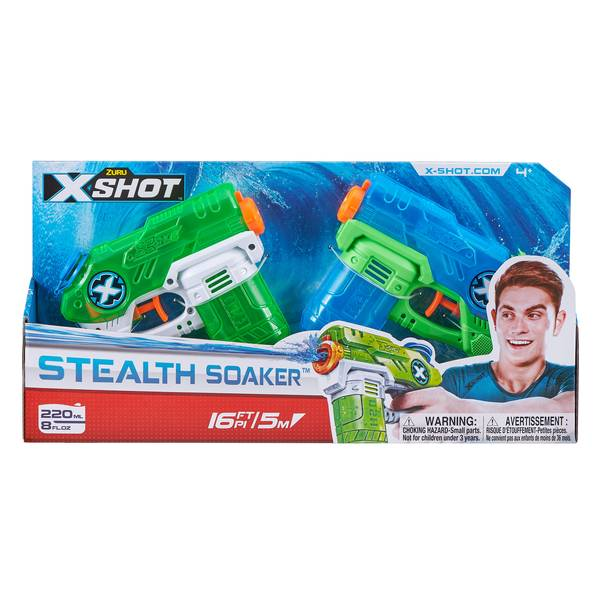 X-Shot Double Small Stealth Soaker