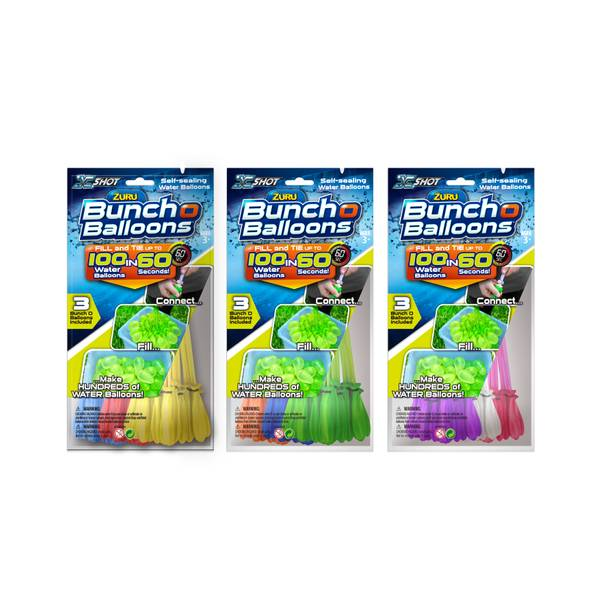 Schylling FBA_1213Q Bunch O Balloons (3pk) - Colors May Vary