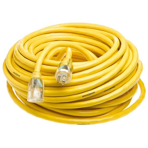10/3 50'SJTW Yellow Jacket Extension Cord