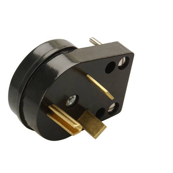 30A RV Replacement Plug