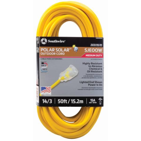 14/3 50' Outdoor Cord