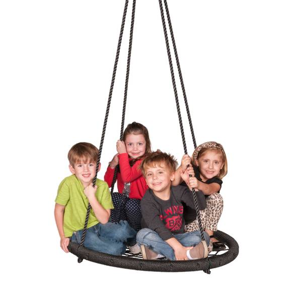 Web Swing with Tree Strap