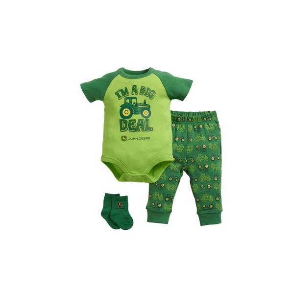 Baby Boys' 3-piece Outfit with Socks Set