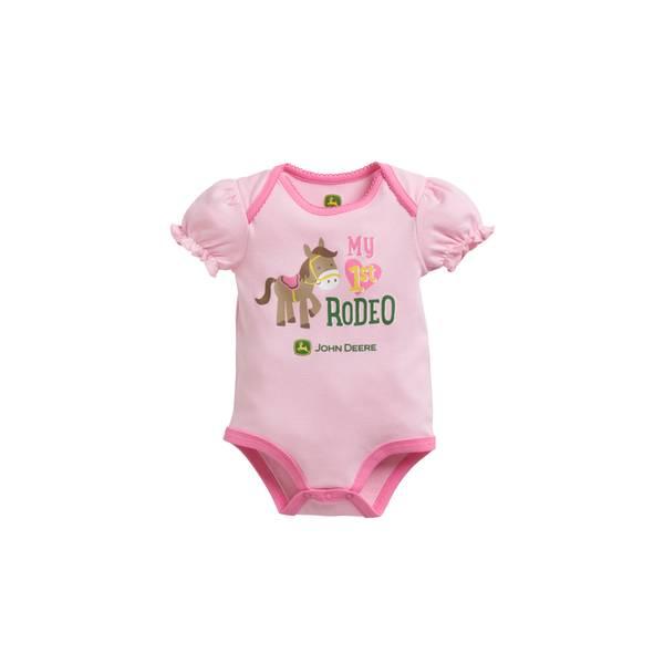 Baby Girls' Short Sleeve Bodysuit