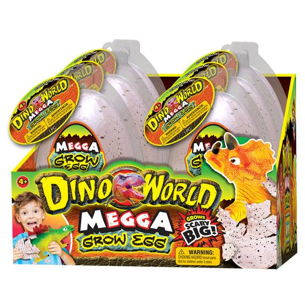 Dino World Megga Grow Egg Assortment