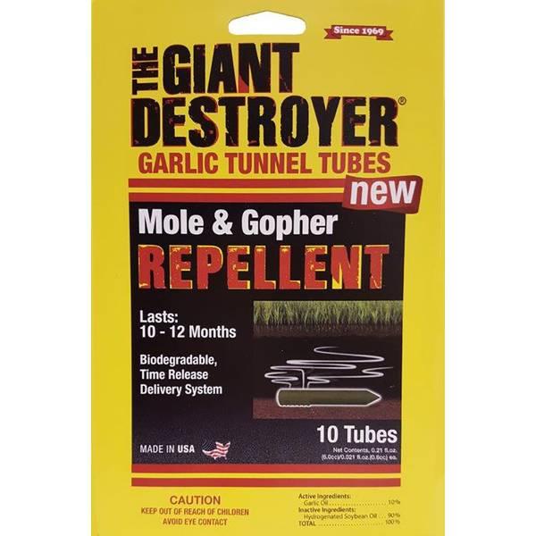 Garlic Tubes Mole & Gopher Repellent