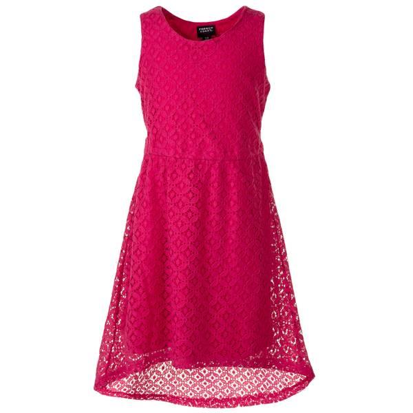 Girls' Hi-Lo Flare Dress