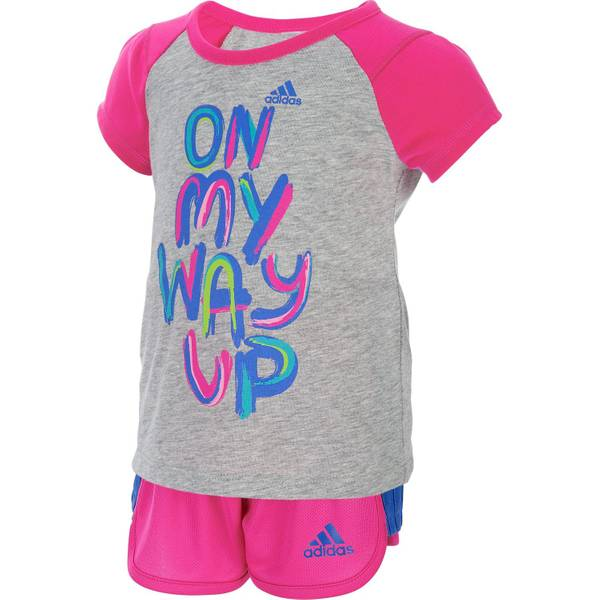 Baby Girls' 2-piece Tee & Shorts Set